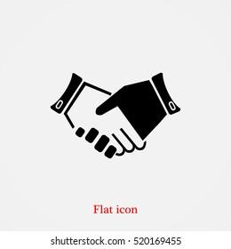 headshake icon, vector best flat icon, EPS