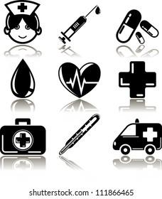 Healt Care Icon Set