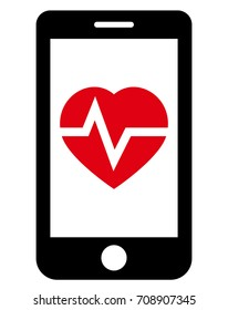 Health app in phone icon