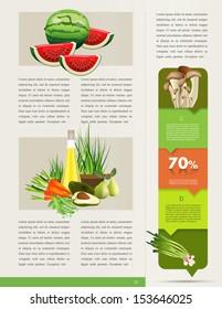 Health brochure template.