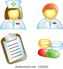 Health Care icons or design elements (1 of 5)