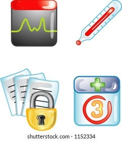 Health Care icons or design elements  (4 of 5)