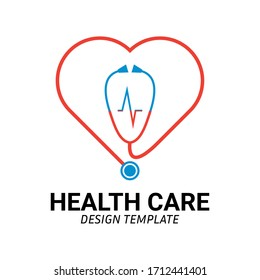 Health care Logo Icon. Creative Design Template vector.