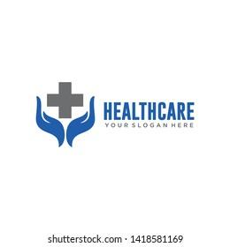 Health care logo icon vector