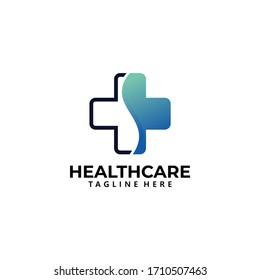health care logo icon vector isolated
