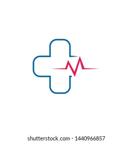 Health care and medical logo design inspiration vector template