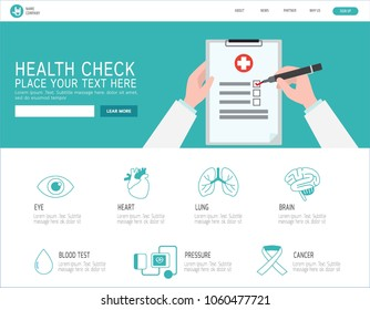 health check infographic.