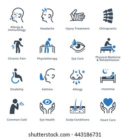 Health Conditions & Diseases - Blue Series