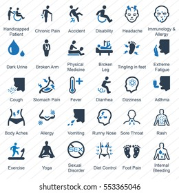 Health Conditions & Diseases (Blue Series)