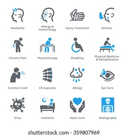 Health Conditions & Diseases Icons - Sympa Series