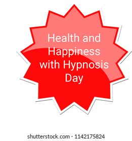 Health and Happiness with Hypnosis Label, July 25