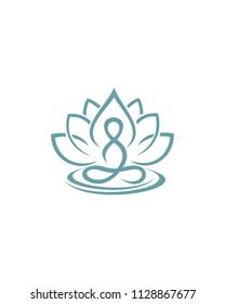 Health Life Coaching Creative Logo