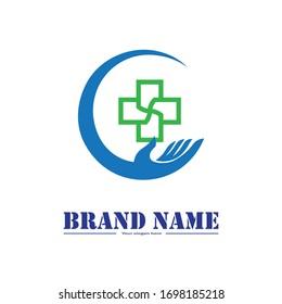 Health Logo Care Icon Isolated Medical Symbol