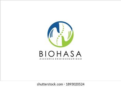 health logo design modern graphic template