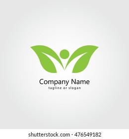 Health logo identity