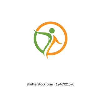 Health Logo Template Icon