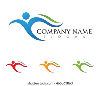 Health Logo Template vector icon design