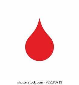 health medical blood drop sign symbol icon vector isolated for web and print