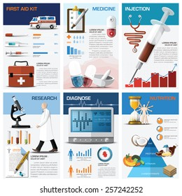 Health And Medical Chart Diagram Infographic Design Template