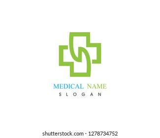 Health medical logo illustration vector design