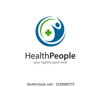 Health People Logo Icon Vector