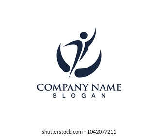 health people logo vector
