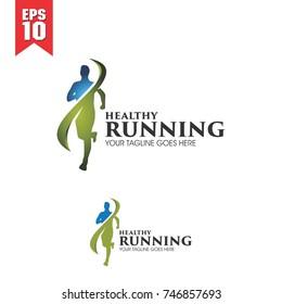 health running logo