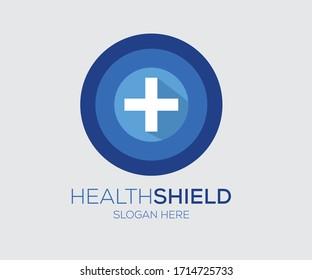 Health Shield conceptual logo design for Health Organization, Logo Design