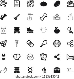health vector icon set such as: color, cream, fertility, disease, drug, stairway, decoration, skin, plaster, metal, thanksgiving, skates, prescription, medicament, breakfast, pumpkin, nobody, hands