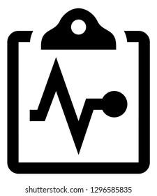 Health Wellness Checkup Vector Icon
