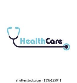 healthcare icon vector logo template
