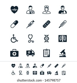 Healthcare icons