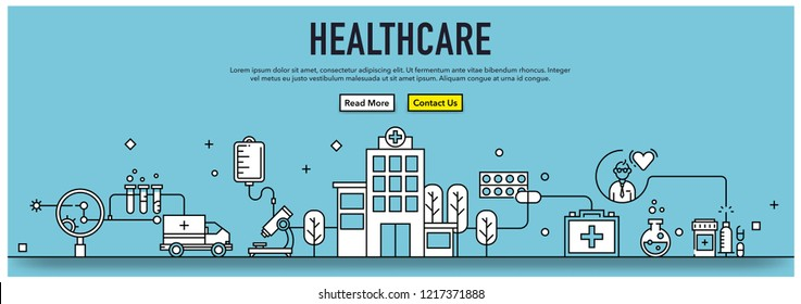 HEALTHCARE INFOGRAPHIC CONCEPT