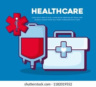 Healthcare infographic design