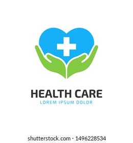 HealthCare Logo Design. suitable for your health care company or hospital. healthcare minimalist design logo. stylish vector logo