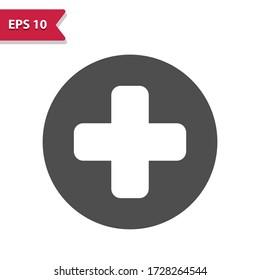 Healthcare Logo. Professional, pixel perfect icon, EPS 10 format.