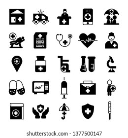 Healthcare and medical icon set- Vector medical service icons.