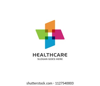Healthcare Medical Logo Design Vector
