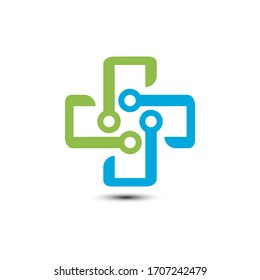 Healthcare and Medical Logo Vector