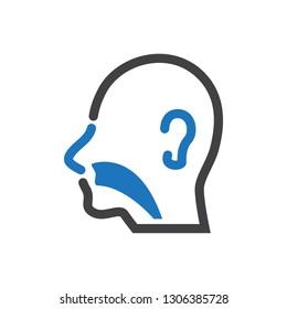 Healthcare & Medical -  Otolaryngology Icon