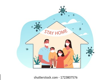 Healthcare, quarantine, covid19, infection, 2019ncov, coronavirus, home concept