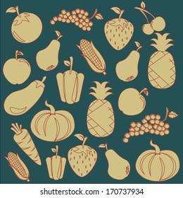 healthy design over blue background vector illustration