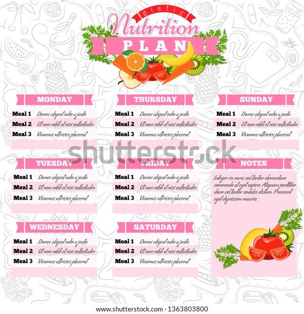 programma pasto dietetico candidatura