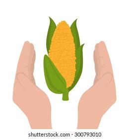 healthy food design, vector illustration eps 10.