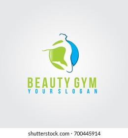 Healthy Gym  Vector Logo