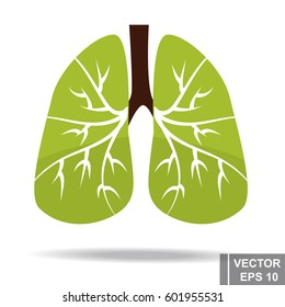Healthy lungs. Fresh air. For your design.