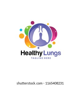 healthy lungs logo