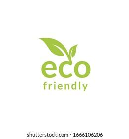 Healthy natural product label logo design