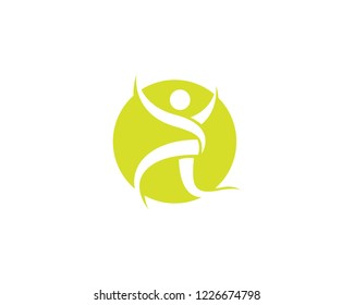 Healthy People care logo