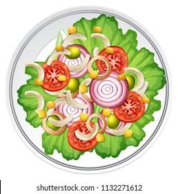 Salad Clipart Images Stock Photos Vectors Shutterstock
